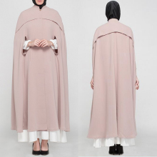 Plus size muslim clothing women coat