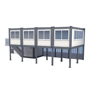 Portable cabin office container house,High quality prefab house easy install prefab