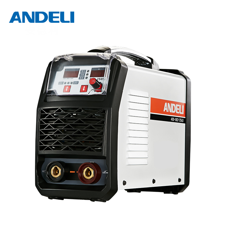 ANDELI smart draagbare eenfase mma spot lassen booglassen machine ARC-250T lage voltage inverter lasmachine