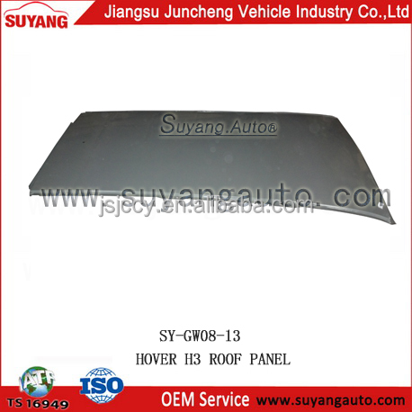 SUYANG GWM HOVER H3 roof panel aftermarket auto car parts