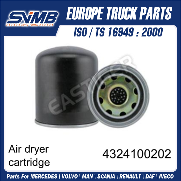 Air Dryer Cartridge 4324100202 For Daf Truck