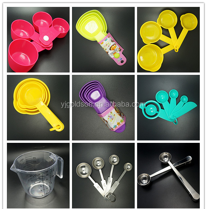 New products to sell 4pcs Eco-friendly silicon measuring spoon