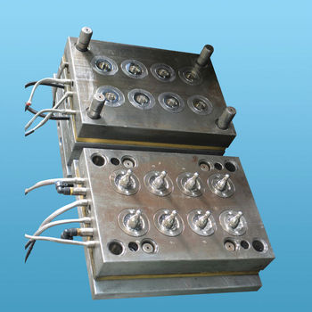 Silicone injection mould with cold runner, Cold runner LSR mould, Silicone baby nipple mould with cold runner