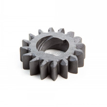 high precision costom exterior threaded small plastic pinion gear manufacturer