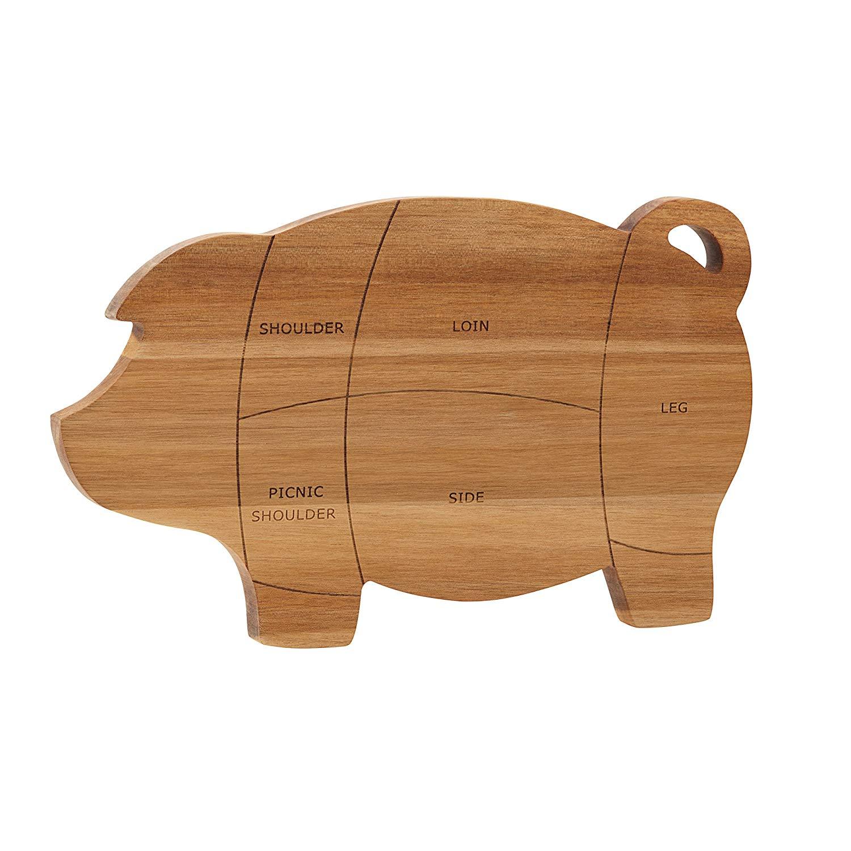 """Paula Deen 46594 Pantryware Cutting Board, Wood, 8.5"""" x 14"""""""