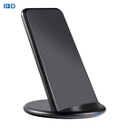 QI certificated 7.5W 10W Wholesale Smart Automatic Fast Wireless Charger Stand For Mobile Phone