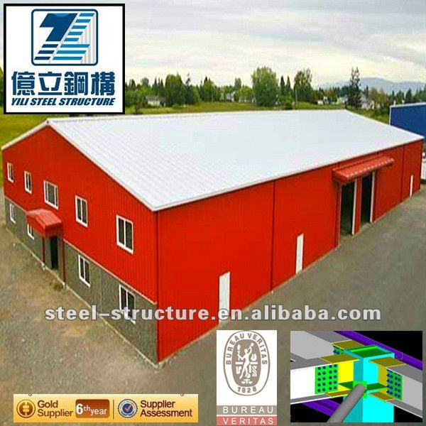 Hot selling steel structure workshop for wholesales