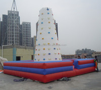 exciting giant inflatable climbing wall