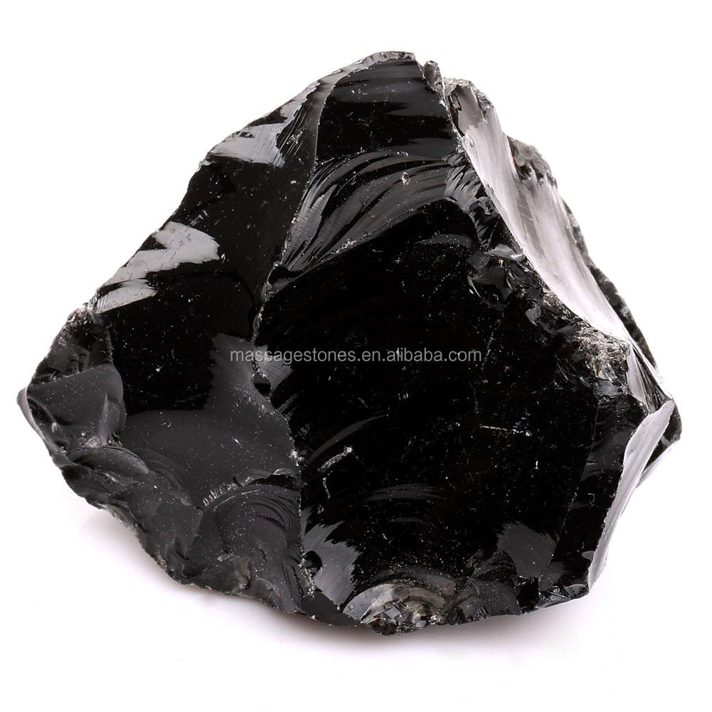 Wholesale Stones For GiftsSemi Precious Raw Tumbled StoneRough Obsidian