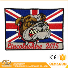 2017 Stock Fashion DIY Custom Embroidered Iron Patches For Clothing