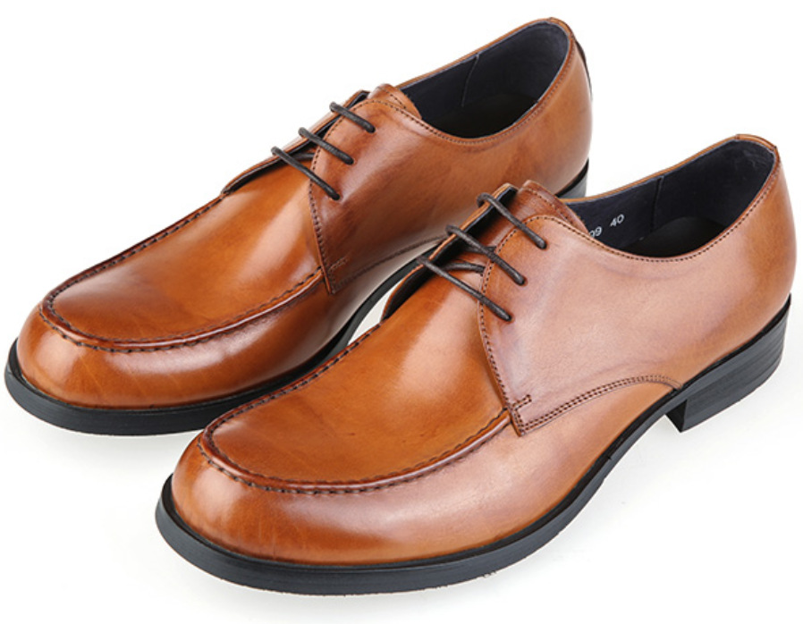 Get Quotations Brown Tan Black Mens Derby Shoes Genuine Leather Dress Office