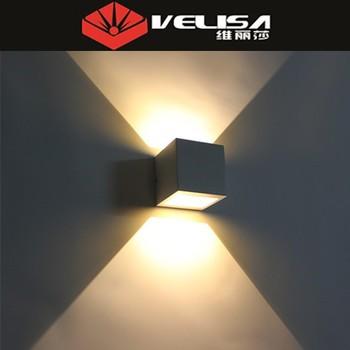 現代の簡単な中国工場直接販売6ワットledウォールマウント外壁照明器具