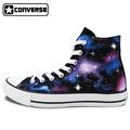 Men Women Sneakers Galaxy Nebula Converse Chuck Taylor Original Design Hign Top Sneakers Hand Painted Shoes
