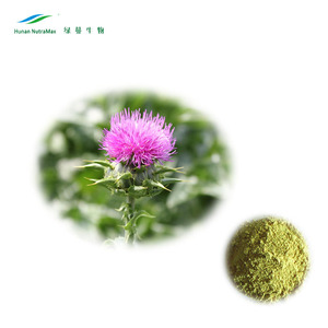Pure milk thistle extract powder Free samples offer milk thistle seed extract Powder