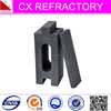Corundum refractory brick for cement rotary kiln mouth