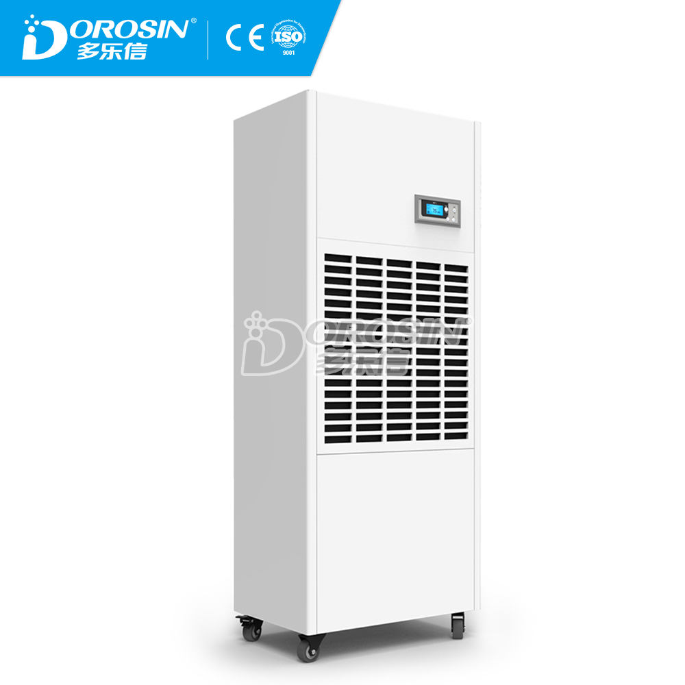 High quality Mobile Industrial Dehumidifier R410a drinking water /Pannasonic compressory Made in China