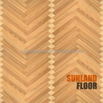 Chevron herringbone woven parquet laminate flooring tiles for Chevron laminate flooring