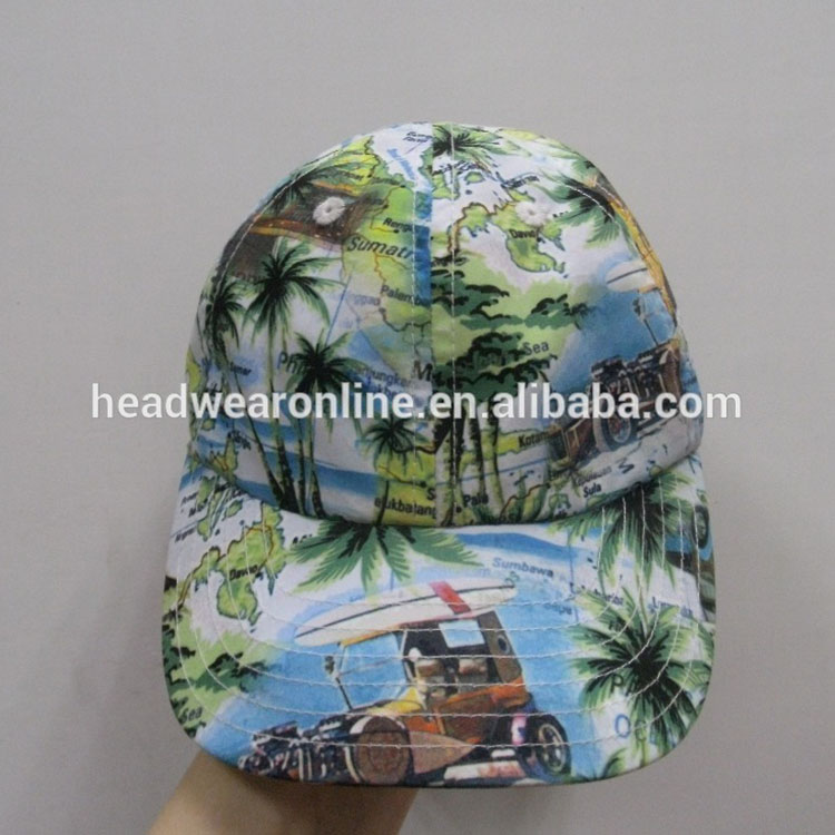 h outdoor baseball hat and cap with hawaii flower