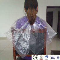 Plastic LDPE household Disposable woman Apron