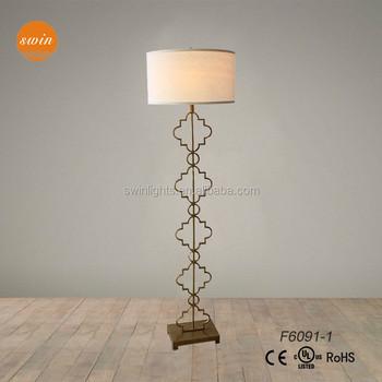 Desain Baru Antik Logam Besi Lampu Lantai Berdiri Untuk Ruang Tamu F6091 1