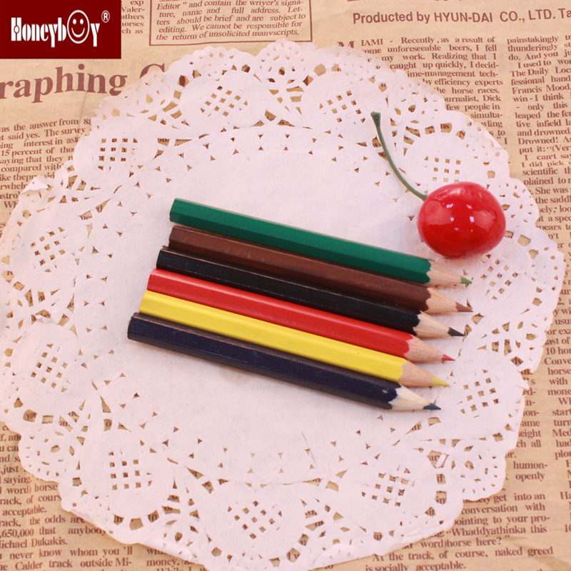 Novelty Design Modern 3.5inch Colorful Pencil For Five-year-old Kids