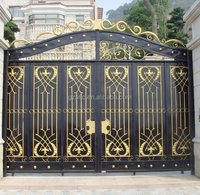 simple iron gate, steel gate for house, beautiful metal fence grill gate