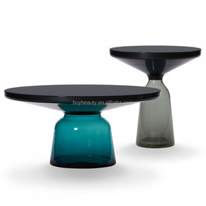 Bell Table Modern Glass Side Table Sofa Side Table