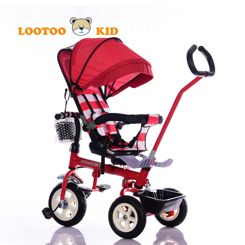 China factory wholesale high quality tricycle for 3 years old girl / children tricycle toys in saudi / red best trike kids