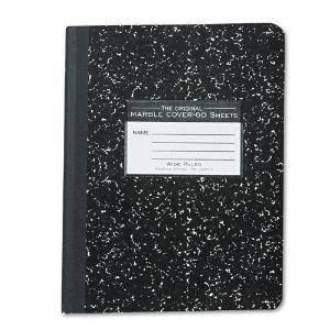 Roaring Spring : Marble Cover Composition Book, Wide Rule, 9-3/4x7-1/2, 60 Pages -:- Sold as 2 Packs of - 1 - / - Total of 2 Each
