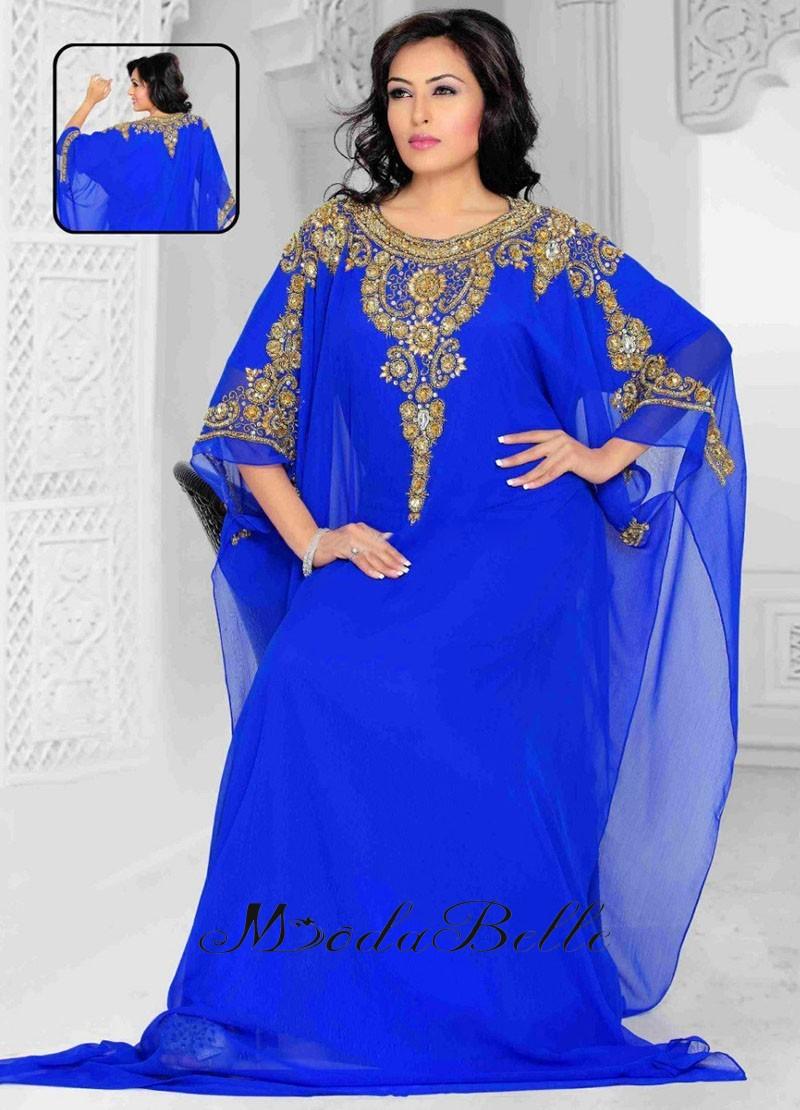 Royal Blue Evening Gown Plus Size – DACC