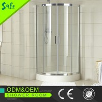 High quality ABS corner quadrant enclosed showers/shower units
