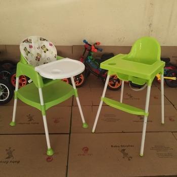 EN14988 Passed 2 In1 Baby Food Chair Plastic High Chair For Kids