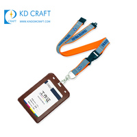 China manufacturer custom promotional tube screen printed id card rope lanyard for sale