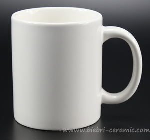 Retail Wholesale Plain White Color Porcelain Coffee And Tea Mugs And Cups