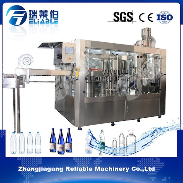 Beverage Filling Packaging Machine,Water Washer,Filler,Capper 3 in 1