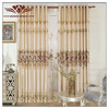 2014 hot sale 100% polyester home used Window Treatments,New Home Decor curtain