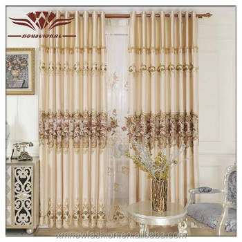 2014 Hot Sale 100 Polyester Home Used Window Treatments