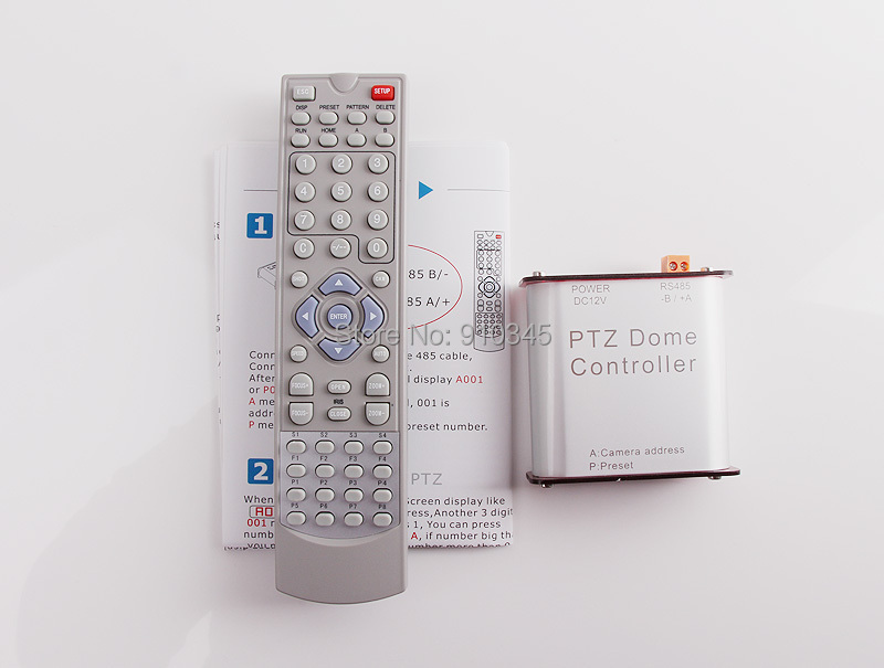 Rs485 Signal This Ptz Keyboard Controller Can Use For Up To 255 Pan