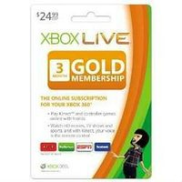360 live 3 months gold membership card