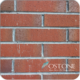 Building Cladding System Red Brick Look Exterior Ceramic Wall Tiles