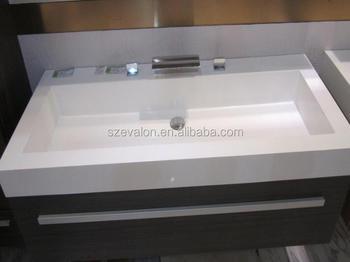 Badkamer Wastafel Kast : Avonite effen oppervlak acryl onderbouw toilet badkamer wastafel