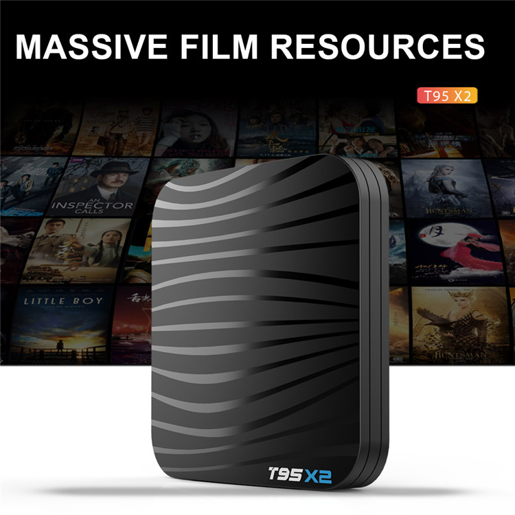 t95x2 s905x2 android 8.1 tv box 2gb 16gb / 4gb 32gb / 4gb 64gb quad core 4k full hd internet smart box