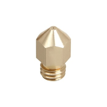 China factory customized high precision brass nozzle cnc turning parts for 3d printer
