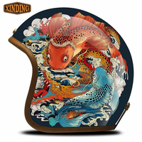 Best Quality Custom Hand-painted Helmets Motorcycle Bicycle Helmet