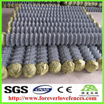 low price packed in roll and pieces chain link fence