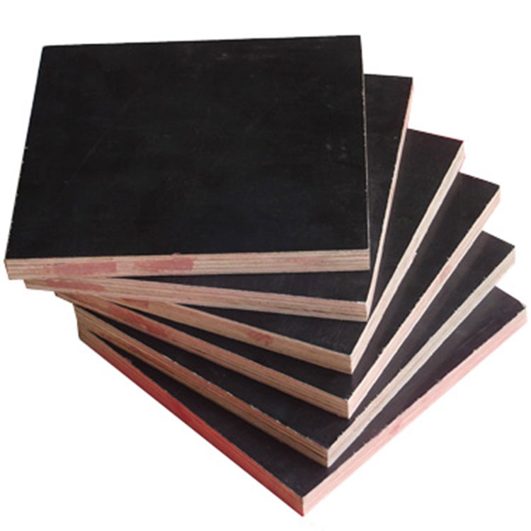 china manufacturer 18mm poplar wood Waterproof film face block board Shutter fancy plywood pine wood block board from linyi
