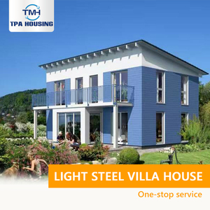 Garden House Metal Framecad Steel Structure Prefab Light Steel Villa House