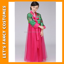 PGCC-1739 New korean traditional elegant clothing children fancy costumes to buy cheap girls dress