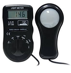 Get Quotations · CEM DT 1300 Digital Light Meter / Environment Test Meter  Luxmeter Digital Light Meter