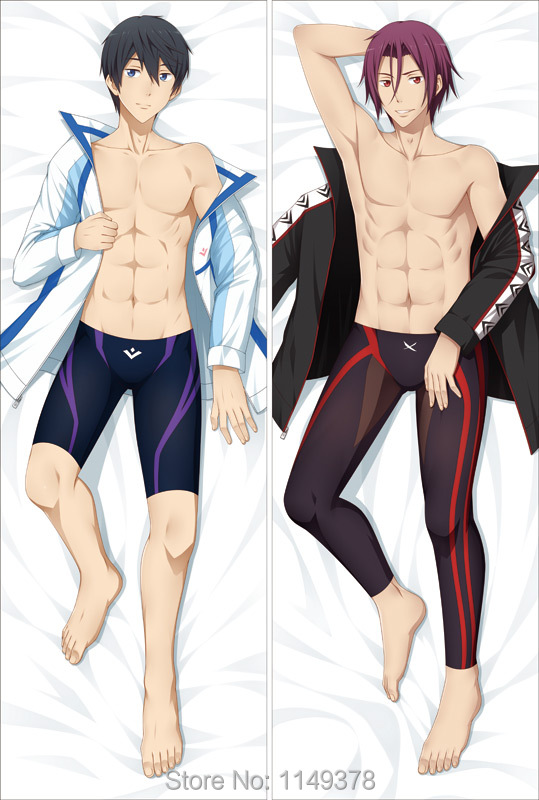 Buy Anime Dakimakura Pillow Case Free Haruka Nanase Rin Matsuoka Yc0115 Free Shipping 150 50cm Peach Skin In Cheap Price On Alibaba Com Because i knew you'd cry. haruka nanase rin matsuoka yc0115 free